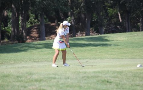 Girls Golf Sets Themselves Below Par