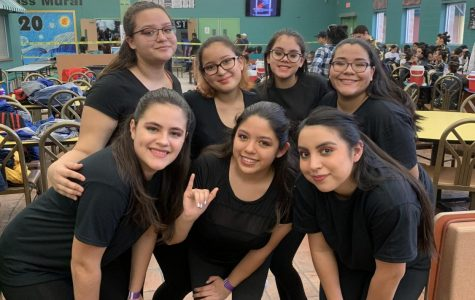 Mcllen Memorial High School Winterguard's First Competition