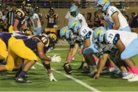 Memorial v.s McHi  Football Game